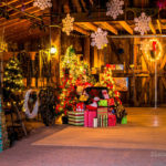 Christmas in the Barn Tree with Presents- Dec 10, 2016