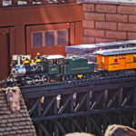 Closeup of the SMMRR Trains & Features