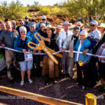 Ribbon Cutting at the Superstition Mountain Museum Railroad Dedication, Nov 19, 2016