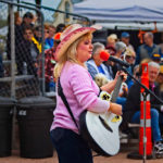 Paula Williamson at Heritage Days & Apacheland Reunion 2017