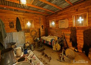 Interior of the Miners Shack