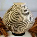 Mata Ortiz Pottery - Pilo Wide Labyrinth