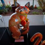 Oaxaca Wood Carving - Cat