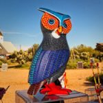 2017 Magic of Mexican Artistry Event - Oaxaca Wood Carving, Owl