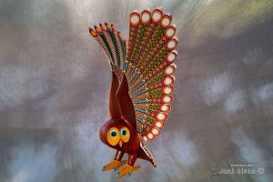 Magic of Mexican Artistry 2017 - Oaxaca Wood Carving of Owl (Photography by Jack Olson)