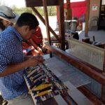 Magic of Mexican Artistry Event - 2017, Weaver Porfirio Gutierrez