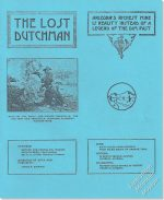 The Lost Dutchman (rare reprint)