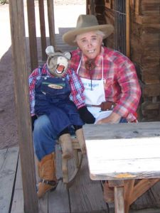 Ventriloquist Chuckwagon Wanda and Digger the Donkey
