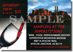 2018 Sampling at the Superstitions - Single (Sample) Ticket