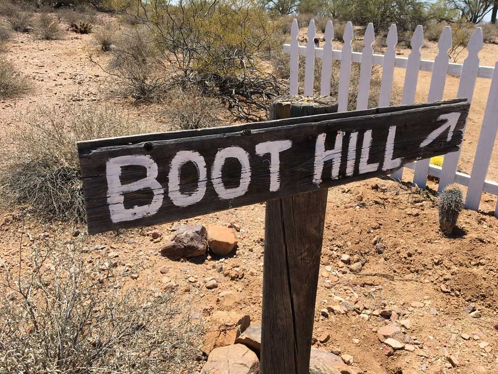 Boot Hill at the Museum - May 2018