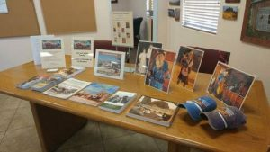 Museum Promotional Display at the Apache Junction Chamber of Commerce - May 29, 2018