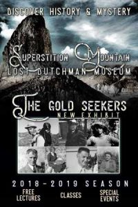 2018 - 2019 Season Superstition Mountain Museum Event Book.