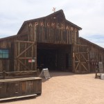 Apacheland Barn on the Museum Grounds
