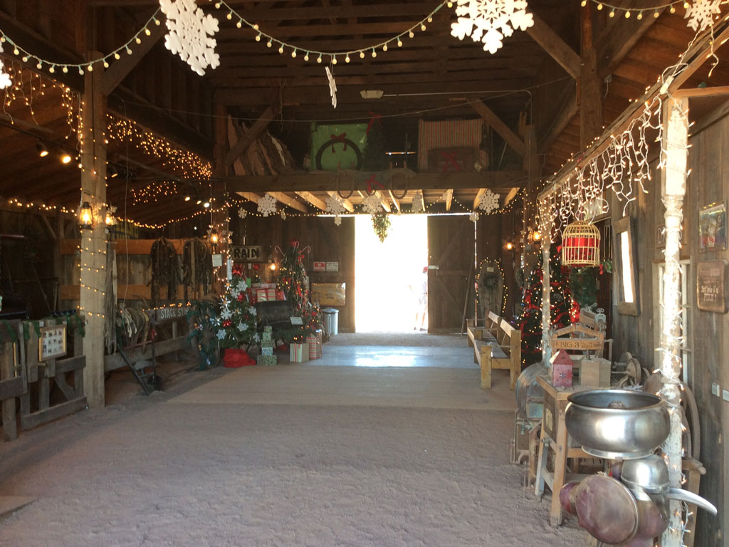 Interior Barn Decorating christmas in the barn superstition mountain lost dutchman museum decorating apacheland ready for christmas
