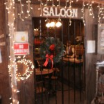 The Saloon, at the Old-Fashioned Christmas in the Barn Boutique