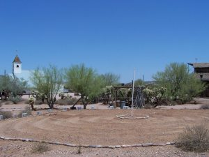 Labyrinth at the Superstition Mountain - Lost Dutchman Museum, Apache Junction, Arizona