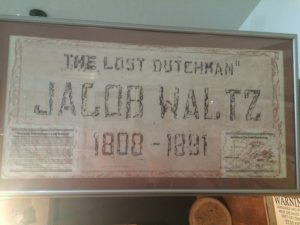 The Lost Dutchman - Jacob Waltz - 1808-1891 (Gravestone Etching)