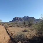 Nature Walk at Superstition Mountain - Lost Dutchman Museum - Beautiful Views along the Walking Trail