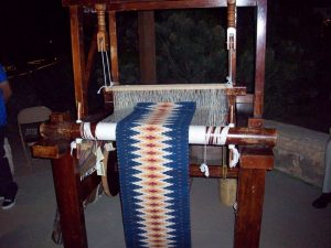 Weaving Loom - Porfirio Guiterrez (traditional Zapoteca weaver)