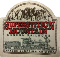 Superstition Mountain Museum Railroad Patch