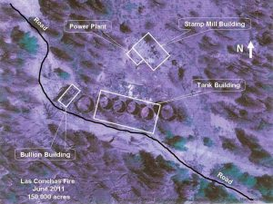 Aerial Photo of Bland NM Site