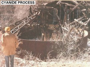 Cyanine Process (outside of the tank building), Bland NM Site