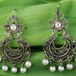 Oaxaca Silver Filigree Jewelry Art by Yesenia Salgado